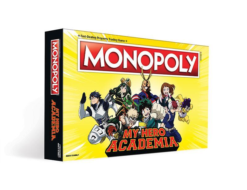 My Hero Academia versione Monopoly