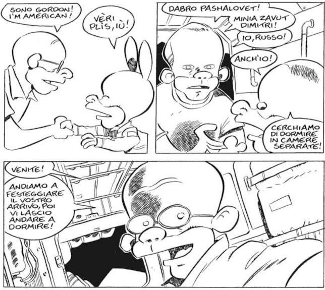 Rat-Man conosce gli astronauti