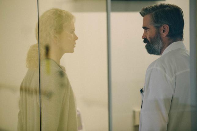 Nicole Kidman e Colin Farrell in una scena del film
