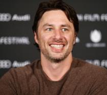 Zach Braff durante una conferenza stampa