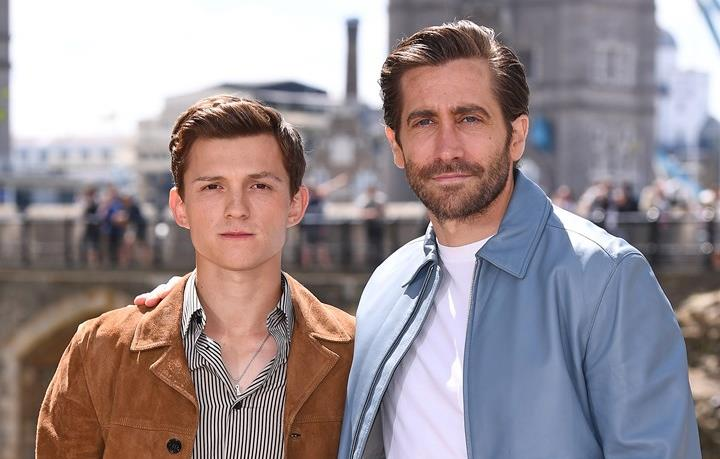 Gyllenhaal e Holland alla premiére londinese di Spider-Man: Far From Home