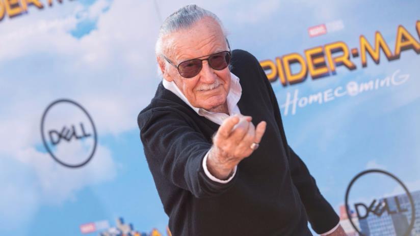 Stan Lee alla prima di Spider-Man: Homecoming