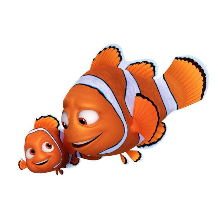 I pesci pagliacci Nemo e Marlin tornano per Alla Ricerca di Dory