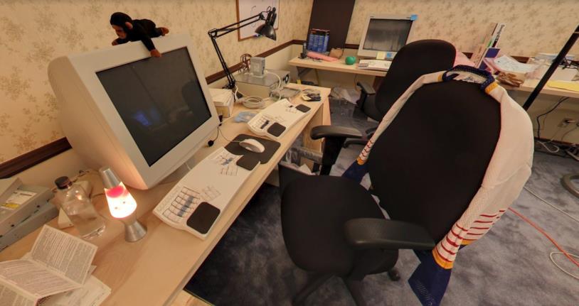 Uffici di Google nel 1998 in Street View