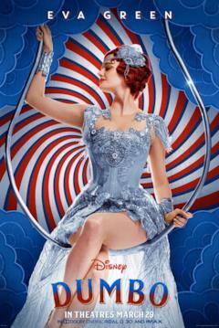 Il character poster di Dumbo dedicato a Colette Marchant