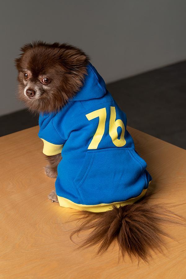 La linea di abbigliamento per cani di Fallout 76