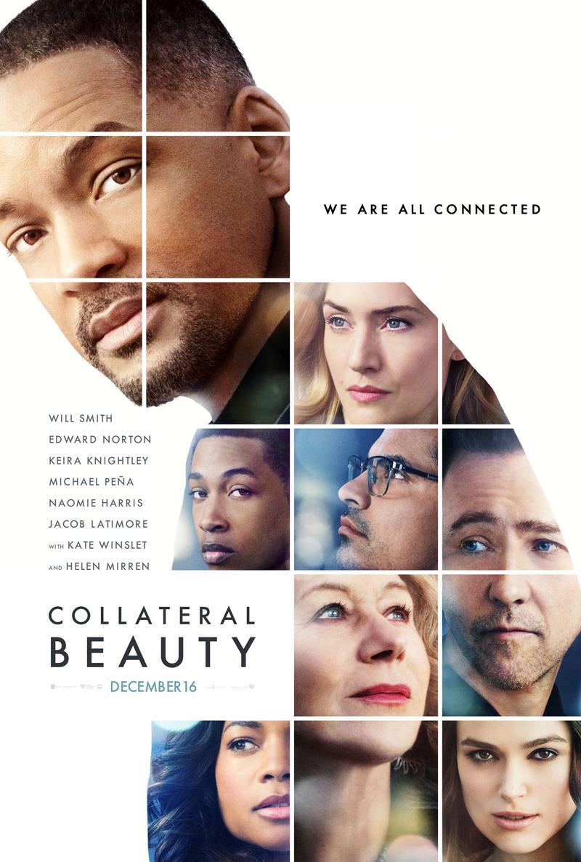 Collateral Beauty la locandina originale del film