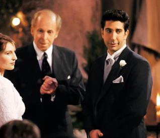 Friends: Ross in una scena dalla serie