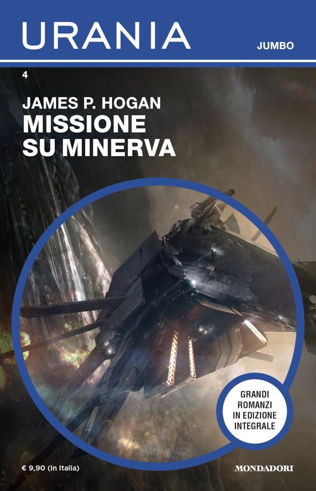 La copertina di Missione su Minerva
