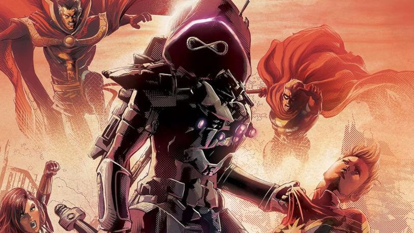 La cover di Infinity Wars #1