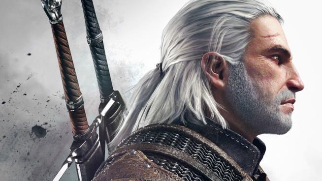 Geralt di Rivia, protagonista della saga The Witcher