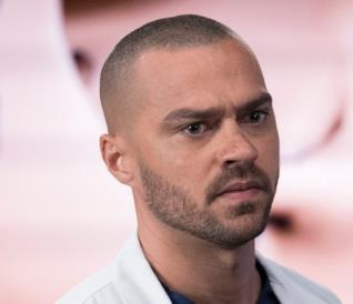 Jesse Williams nel ruolo di Jackson Avery in Grey's Anatomy