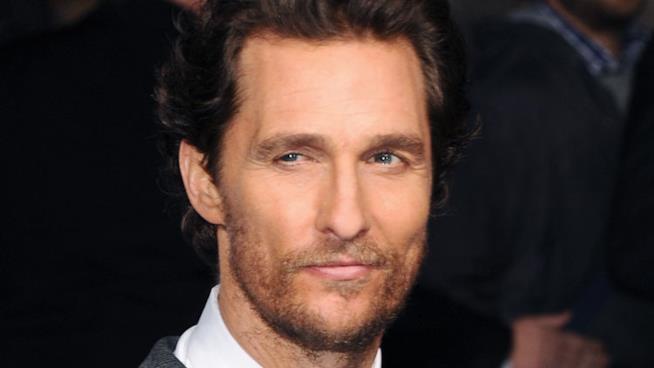 Primo piano di Matthew McConaughey