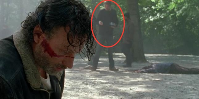 Una scena in The Walking Dead 7, episodio 1