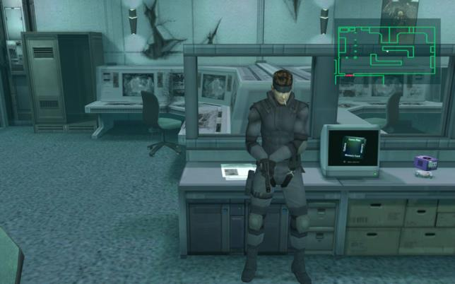 Un'immagine da Metal Gear Solid: The Twin Snakes