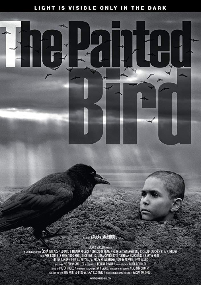 Il poster ufficiale di The Painted Bird