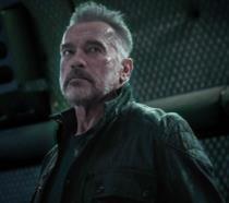 Arnold Schwarzenegger in una scena di Terminator: Destino oscuro