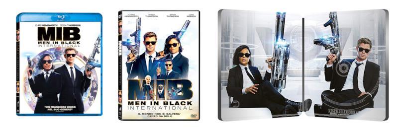 Le edizioni Home Video di Men in Black: International