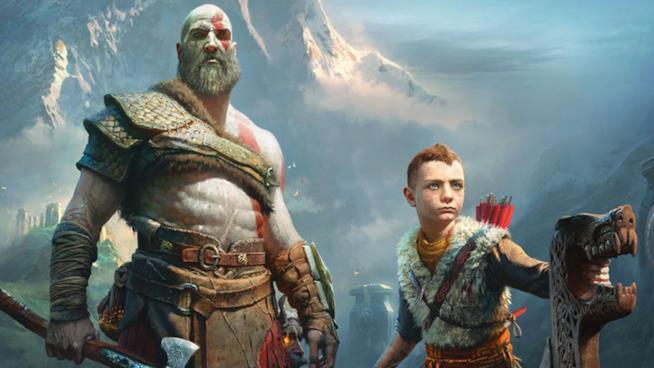 Un'immagine tratta dal gioco God of War