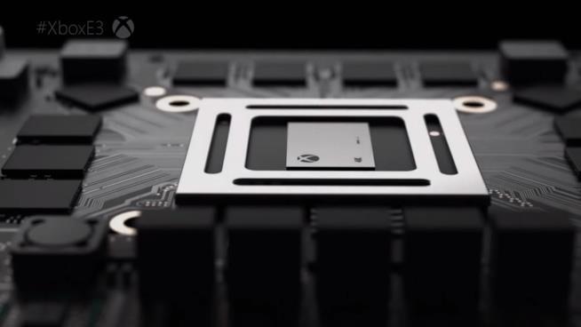 Dettaglio hardware Xbox Scorpio