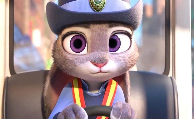 La coniglietta Judy di Zootropolis