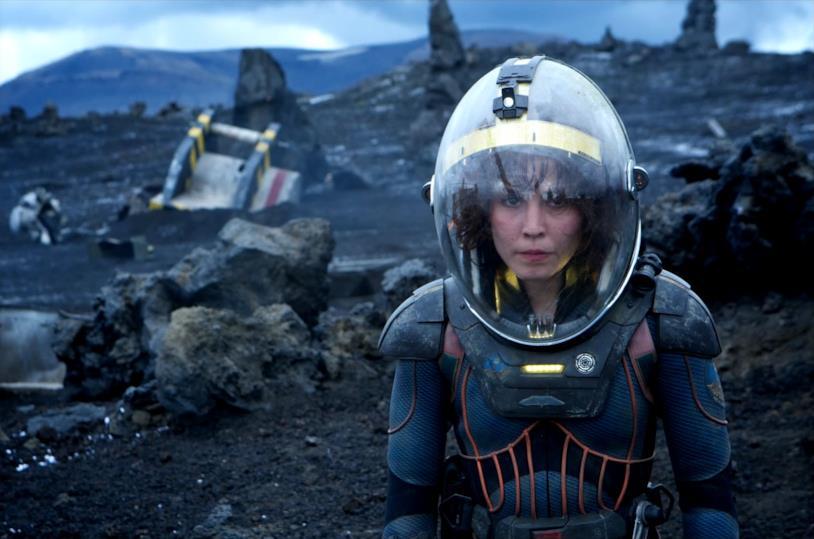 L'archeologa Elizabeth Shaw di Prometheus è interpretata da Noomi Rapace