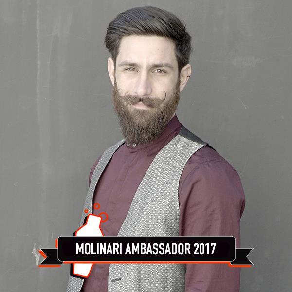 Il nuovo Molinari Ambassador, Salvo