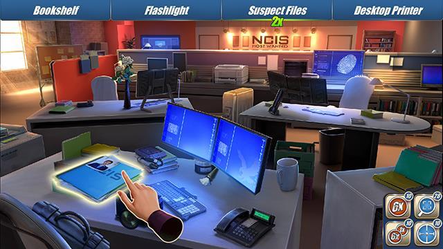 Uno screenshot di NCIS: Hidden Crimes, nuova app rilasciata da Ubisoft