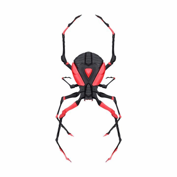 Sneaker trasformate in un ragno 3D