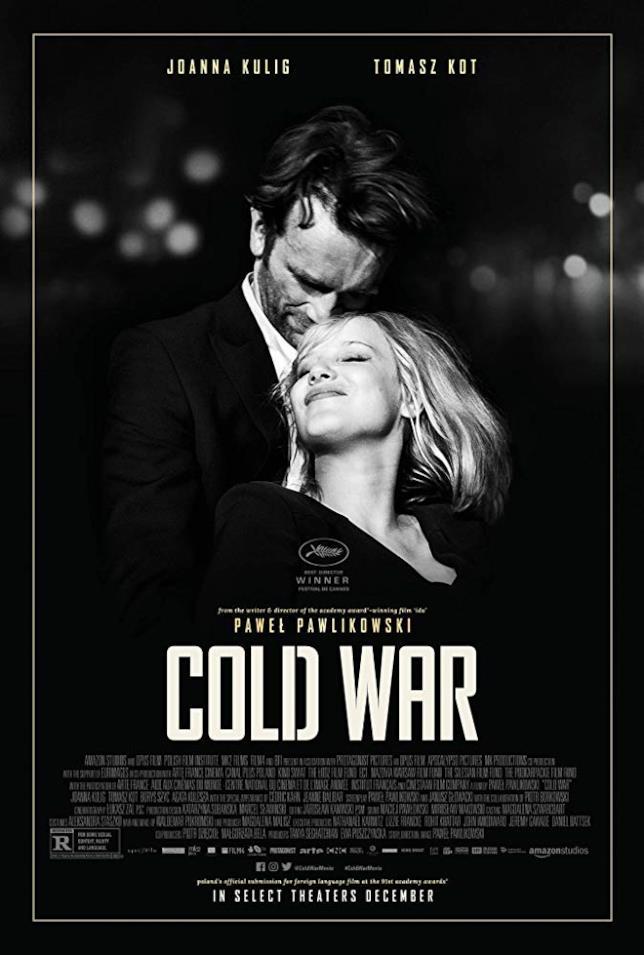 Joanna Kulig e Tomasz Kot nel poster internazionale di Cold War