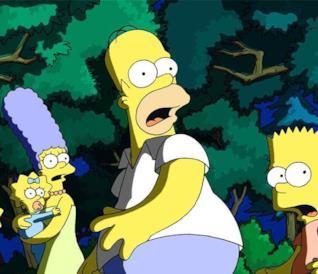I Simpson shockati