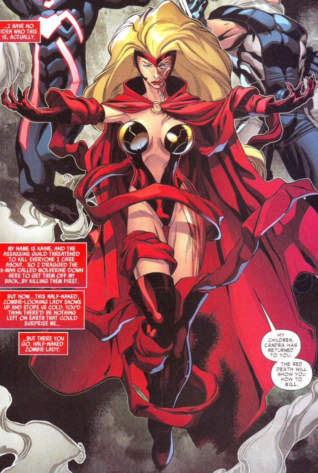 Candra nei fumetti Marvel