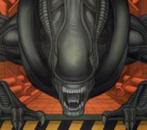 Alien 3 xenomorfo a fumetti