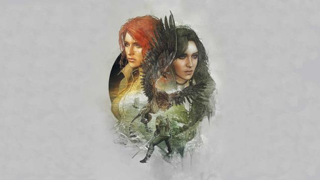 Artwork di Triss Merigold e Yennefer di Vengerber, compagne dello strigo Geralt