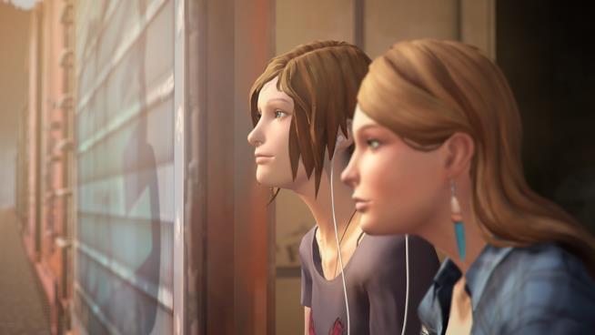 Chloe Price e Rachel Amber in un'immagine del gioco