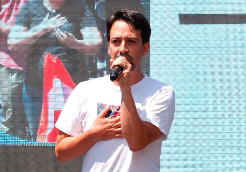 Lin-Manuel Miranda - compositore delle musiche del prossimo live-action Disney