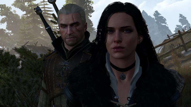Geralt e Yennefer