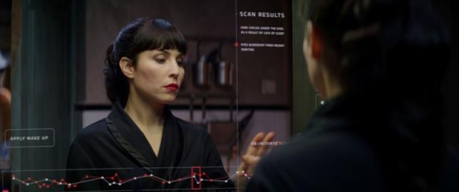 Noomi Rapace in una scena del film Seven Sisters