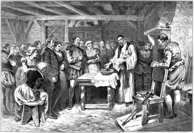 Rappresentazione dei coloni di Roanoke