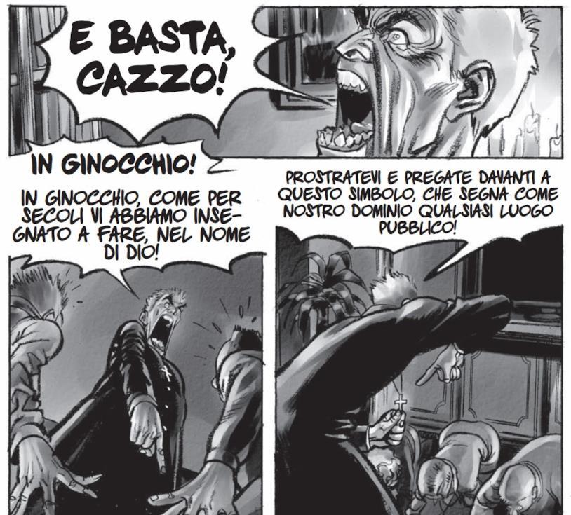 Don Zauker fumetto Feltrinell