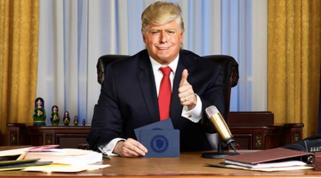 Una scena dello show Comedy Central dedicato a Donald Trump
