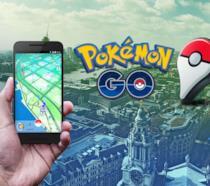 Una delle schermate promozionali di Pokémon GO in Europa