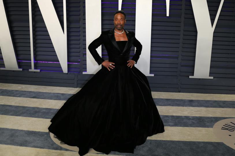 Billy Porter e l'abito da donna agli Oscar 2019