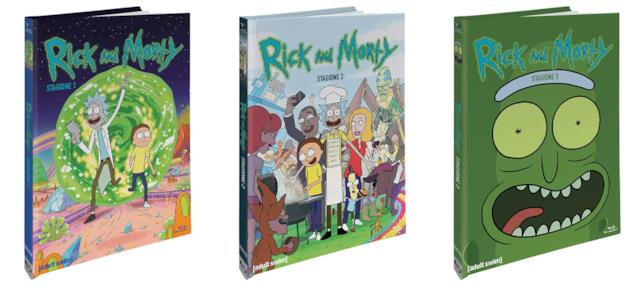 Le edizioni Blu-ray di Rick and Morty