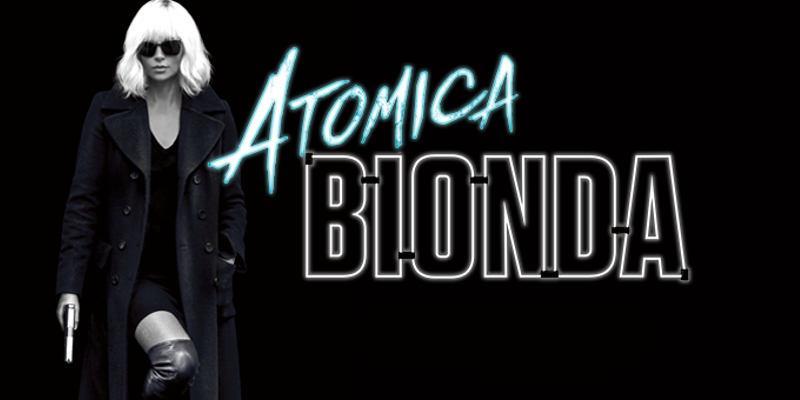 Poster promozionale di Atomica Bionda