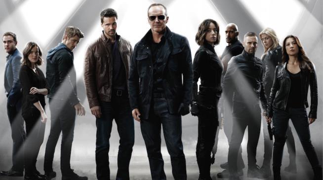 la foto promozionale della terza stagione di Marvel's Agents of S.H.I.E.L.D.