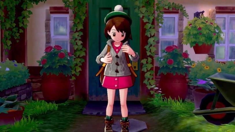 L'allenatrice protagonista di Pokémon Spada e Scudo