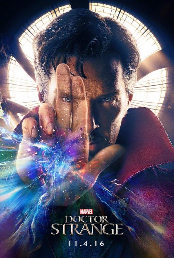 Benedict Cumberbatch è Doctor Strange nel film Marvel