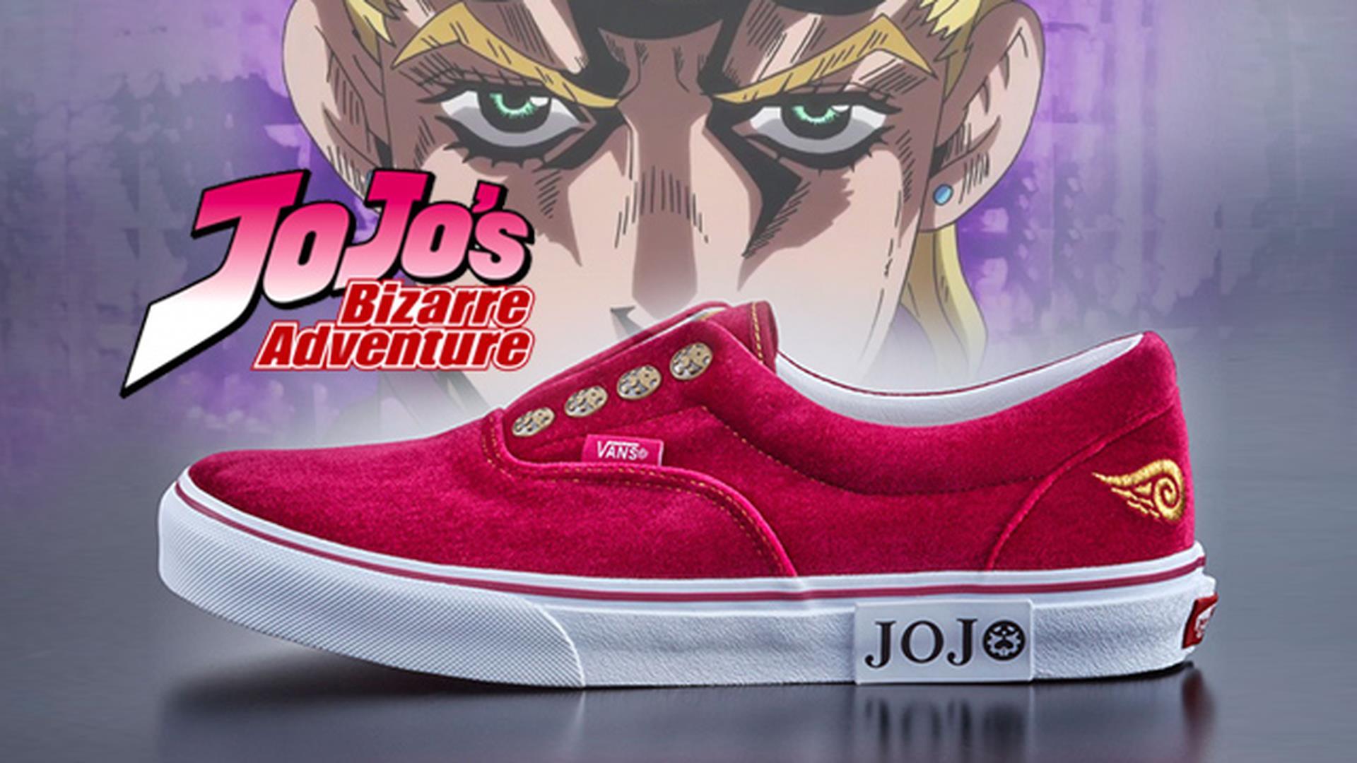 Le Bizzarre Avventure di Jojo: le scarpe Vans ispirate a