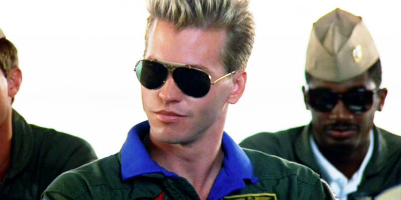 Val Kilmer in Top Gun del 1986